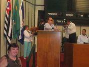 Célia A.Martins Homenageada na Câmara Mun. de Ribeirão Preto